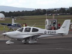 G-VGAG Cirrus SR20 (Aircaft @ Gloucestershire Airport By James) Tags: gloucestershire airport gvgag cirrus sr20 egbj james lloyds