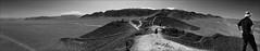 Nazca Desert (kate willmer) Tags: desert hills rocks sand people lines nascalines nasca peru monochrome mono blackandwhite bw