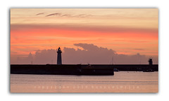 Pastel Shades (RonnieLMills - 2 Million Views...Thank you All :)) Tags: lighthouse harbour silhouette pastel shades sky clouds sunrise dawn pinks peaches layered effect peaceful serene calm donaghadee county down northern ireland nikon d3300 tamron 90mm 28 macro
