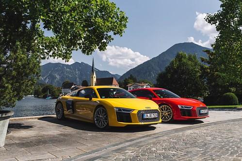 Audi tour experience - Alpen tour with the Audi R8 Coupe V10 plus quattro __ @audi_de @audi_aut #audi #r8v10 #r8 #mountains #alps #ingolstadt #bavaria #austria #nature #quattro #carswithoutlimits #snabshod #sonyalpha #a7ii #35mm #instacar #instacars #inst