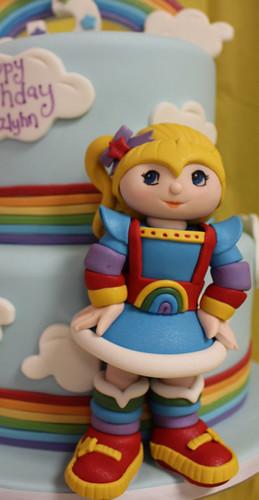 Rainbow Brite Cake figurine