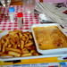 First Meal in France - Endive Gratin Truck Stop Cafe - April 27th 2012