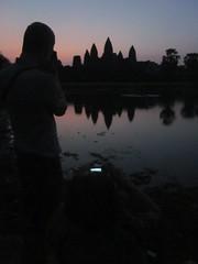 silhouette @Angkor Wat