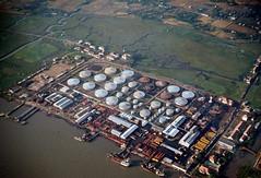 Saigon Feb 1969 - Kho xăng dầu Nhà Bè (manhhai) Tags: 1969 vietnam saigon tray62