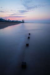 . . . . O (ROB KNIGHT photography) Tags: longexposure pink sunset sea orange seascape glow pastel tide lincolnshire coastal bluehour tones cleethorpes eastcoast groynes robknight leefilters canoneos5dmkii axeman3uk robknightphotography canon24105mmeflseries robrkphotographiccom