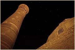 Ursa Major (Pavel Lunkin) Tags: city trip travel architecture night stars nikon asia minaret east centralasia bukhara ursamajor constellation