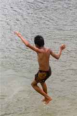 """freedom II (KhaleD PiX) Tags: life boy shirtless people cold color colour water ecology childhood river children asian outdoors happy photography freedom cool jump jumping colorful asia day afternoon child background candid joy lifestyle happiness excited entertainment human enjoy environment dhaka activity cheerful joyful excitement bangladesh enjoyment active fearless bangladeshi careless indigent day"""" time"""" """"children water"""" livelihood weather"""" reflection"""" """"full """"day """"color image"""" friendly"""" issues"""" child"""" """"care """"calm """"mid only"""" """"jumping """"environment free"""" length"""" activity"""" """"echo """"leisure """"arms raised"""" """"preadolescent"""