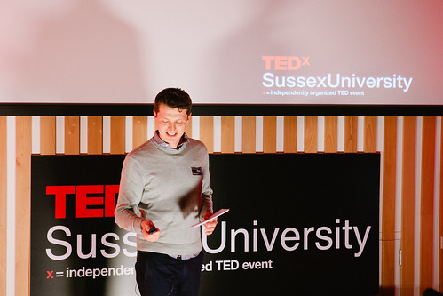 Ross Breadmore speaking at TEDxSussexUniversity 2012