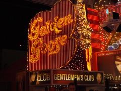 Golden Goose on Fremont Street in Las Vegas