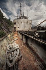 ship of dreams ([AndreasS]) Tags: sky urban abandoned norway boat rust ship exterior power sweden decay exploring ghost ss rusty vessel eerie rope cargo historic creepy norwegian forgotten ms unwanted fjord bergen hull wreck skip ghostly derelict hdr freight decayed bt listed ue tonal urbex unused vrak pompey hamen gammel constrast decomissioned rusten tonemapped skipsvrak motorship vernet de forlatt historisk andreass farty iddefjorden verneverdig lasteskip riksantikvaren frakteskip mrnorue sjfartshistorie mshamen spkelsesbt tandik