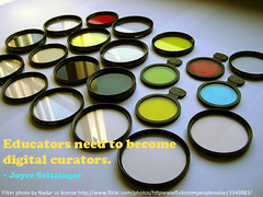 Educators need to become digital curator by catspyjamasnz, on Flickr