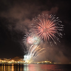 (Fotomondeo) Tags: espaa valencia night noche spain nikon fireworks alicante fuegosartificiales d7000