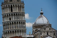 Pisa (michael_hamburg69) Tags: italien italy building tower italia belltower pisa campanile tuscany marble duomo turm toscane toskana leaningtowerofpisa marmo wahrzeichen marmor schieferturmvonpisa schief torredepisa torrependentedipisa tourdepise ilcampodeimiracoli