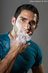 Smoker (Safwan Babtain -  ) Tags: by photo sigma 70200 f28 safwan 70200mm d300         d300s  babtain