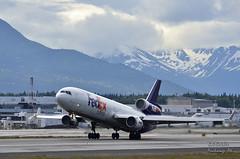 FedEx 93 heavy (BobButcher) Tags: alaska nikon cargo anchorage fedex md11f nikkor70200f28 d7000 captaintimburson focherylkonter
