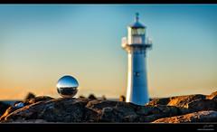 espy (Jay Daley) Tags: lighthouse macro sunrise nikon small creative nsw 105 southcoast wollongong d800 glassball