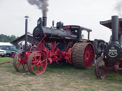 Southeastern Old Threshers Reunion Avery Company Undermounted Steam Tractor (lionel682) Tags: park old tractor reunion farm steam company avery denton southeastern threshers undermounted