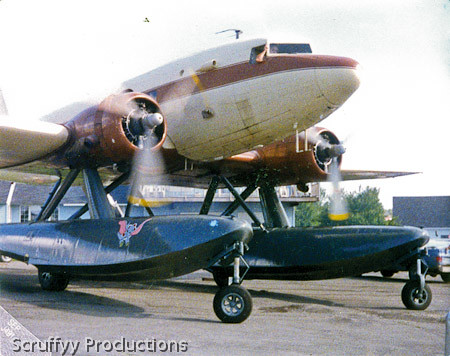 McDonald Douglas DC-3 On Floats