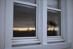 Dawn window (Adam Chin) Tags: scotland zeissikon isleofislay kodakportra400 zeissbiogon35mm20