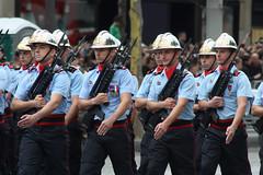 Brigade des Sapeurs-Pompiers de Paris, Bastile Day 2012, Paris (IFM Photographic) Tags: img0834a canon 450d tamron70300mm tamron 70300mm tamron70300mmf456dildmacro bastilleday laftenationale lequatorzejuillet thefourteenthofjuly militaryparade troops avenuedeschampslyses champslyses paris france 8tharrondisment 8th arondisment 8e 8me 75008 frencharmy armedeterre parisfirebrigade brigadedessapeurspompiersdeparis bspp gnie firemen firefighters