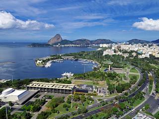 Parque do Flamengo - Marina da Glória - Pão de Açúcar - Rio de Janeiro - Brasil