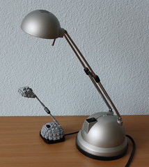 Small Lamp (Simon S.) Tags: lamp lego bricks bulp miniscale