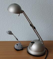 Small Lamp (Simon S.) Tags: lamp lego bricks bulp miniscale