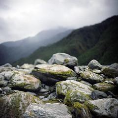 (*YIP*) Tags: newzealand sky 120 6x6 film nature rock mediumformat square landscape outdoors photography day kodak nopeople glacier franzjosefglacier environment epson kiev westland mountainrange kiev60 yip iso160 colorimage v500 environmentalissues southislandnewzealand physicalgeography yipchoonhong