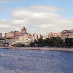 Moscow Afternoon (Alexey Subbotin) Tags: river kodak russia moscow hasselblad 500cm ektar фотограф