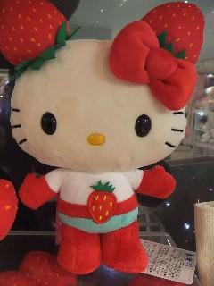 『Hello Kitty』×『草莓』!新感覺的超級英雄「草莓超人」酸甜登場~