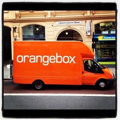 Orangebox (World of Good) Tags: london advertising typography photography design graphicdesign image content identity photographs van orangebox brand branding typographic worldofgood