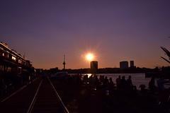 Summer Evening (pascaledekker) Tags: sunset summer skyline evening rotterdam summertime euromast katendrecht sunsetlover fenixfoodfactory