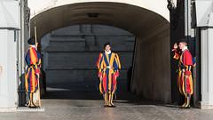 The Changing of The Guard (Steve Barowik) Tags: rome roma lazio nikond750 barowik stevebarowik sbofls26 nikon28300mmf35f56g italy italia zoom fx fullframe piazza city citta vatican campo termini forum colisseum collisseo trevi spanishsteps piazzanavona treefontana lovelycity unlimitedphotos wonderfulworld quantumentanglement flickrelite stpeters basilicadisanpietro cittadelvaticano pope papal papa frances swissguard cistine