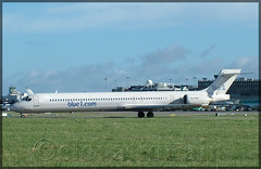 SE-DMF McDonnell Douglas MD-90-30 Blue1 (elevationair ) Tags: dublinairport dub eidw airliners md mcdonnelldouglas md90 mcdonnelldouglasmd9030 sedmf blue1 lcc lowcostcarrier budgetairline departure takeoff airplane aircraft plane avgeek aviation
