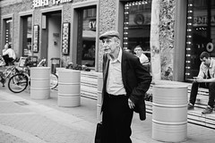 (red line highway) Tags: man people street photography nikon city blackandwhite black white russia stpetersburg time social documentary downtown 35mm monochrome