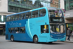Arriva Midlands 4411 YX64VMF (Will Swain) Tags: birmingham 29th july 2016 west midland midlands city centre bus buses transport travel uk britain vehicle vehicles county country england english arriva 4411 yx64vmf