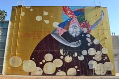 210/365: LA Series- Street Art/Random/The one where I talk about my feelings! (foanmoan) Tags: street art moca la los angeles little tokyo girl poetry city