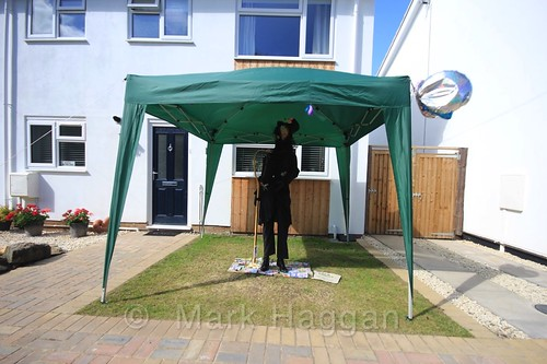 The Childcatcher at the Heather Scarecrow Festival 2016