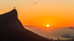 Sunrise | Vista Chinesa (José Eduardo Nucci Photography) Tags: sunrise cidademaravilhosa rio450anos morning sunny christtheredeemer sugarloaf cloudscape beautiful nikon d800 nikkor 28300mm mirror landscape guanabarabay water explore urca beach niterói ipanema riodejaneiro brazil wonderfulcity world time southamerica atmosphere tropical seasons outdoor joséeduardonucci dusk dawn light shadows dark orange rays corcovado vistachinesa balance getty happy photography tour paineiras flamengo florestadatijuca sunset sky mountains wondersoftheworld brasil botafogo blessed redeemer cityscape sunlight favorite ocean silhouettes nature peace