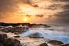 (Henrik Kalliomäki) Tags: sunset sun landscape nightscape sescape longexposure graduatedfilter canon hikkaduwa srilanka