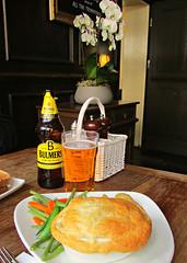 Beef & Ale Pie, The George Inn, Southwark, London, England (Amethinah) Tags: 2013 uk unitedkingdom greatbritain england london southwark thegeorge pub inn shakespeareslocal dickens thegeorgeinn bulmersoriginal steakalepie