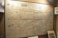 Route 66 Museum (Adventurer Dustin Holmes) Tags: 2016 lebanonmissouri lebanonmo route66museum peggypalmersummersmemoriallibrary lacledecounty missouri lebanonlacledecountylibrarycentrallibrary lebanonlacledecountylibrary unitedstatesofamerica usa roadmap map maps oldmap antiquemap route66 us66