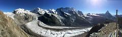 Panoramica dal Monte Rosa al Cervino vista dal Gornergrat (CANETTA Brunello) Tags: capanna rosa matterorn cervino zermat gornergrat monterosa panoramicadalmonterosaalcervinovistadalgornergrat