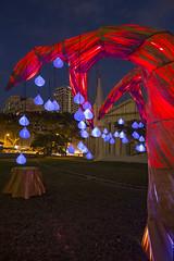 Singapore Night Festival 2016 - Samara by Max Pagel & Jonathan Hwang, Starlight Alchemy (SG) (gintks) Tags: sculptor armenianchurch singaporetourismboard yoursingapore exploresingapore sgnightfest sg51 gintaygintks gintks holland