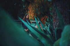 Los Das Ms Cortos Del Ao (JavierAndrs) Tags: mujer woman chica girl jven young atmsfera atmosphere mood moody ethereal eterea plants plantas mirada look bosque f14 14 forest rboles trees verde green pauelo scarf bufanda bokeh colores colors color ojos eyes ropa clothes expresin expression retrato portrait pelo hair fro cold invierno winter estacin season mendoza argentina piel skin suave soft d800 nikon nikkor nature naturaleza gente cerrodelagloria 50mm