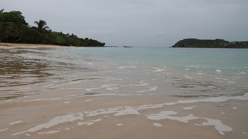 Beach on Antigua