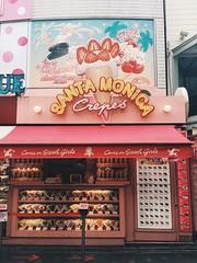 Harajuku Crepes (GabrysiaJ) Tags: harajuku tokyo crepes santa monica pastel neons crepe food