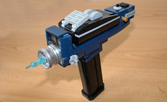 Phaser from Star Trek (hachiroku24) Tags: lego star trek phaser gun weapon moc creation afol tos original series 60s