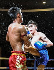 Kick of MuayThai (pitchmix) Tags: muaythai fighting thailand boxing people sport kick