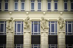 4 guys (Gerwin Filius) Tags: 4gasten 4guys art beelden canon70200mm canon7d four kunst luxembourg luxemburg statues steen vier